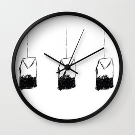 Tea Bag Wall Clock