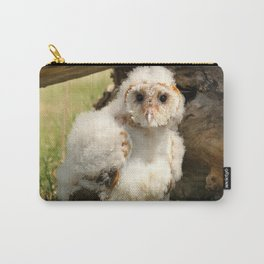 Cotton Owl Carry-All Pouch