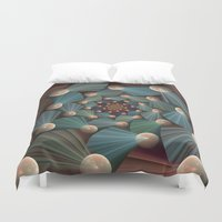graphic design Duvet Covers featuring Graphic Design by gabiw Art