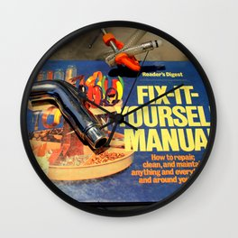 I Get By With A Little Help Wall Clock
