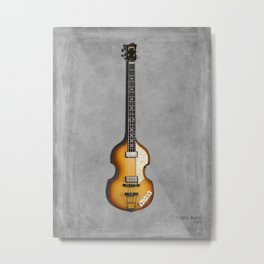 Violin Bass 1962 Metal Print