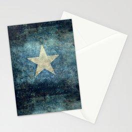 Flag of Somalia - Super Grunge version Stationery Cards