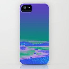 Hallucinating Mountains iPhone Case