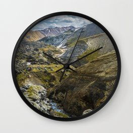 Land Of Awe Wall Clock