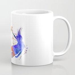 Women soccer players 02 in watercolor Coffee Mug
