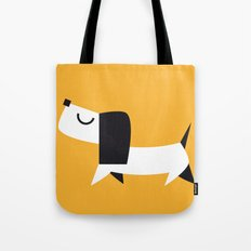 Yelow Dog Tote Bag