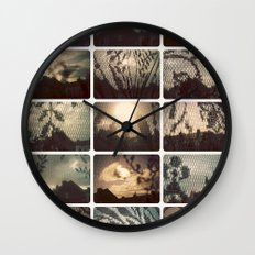photography too 01 Wall Clock