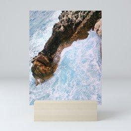 Seaside Smash Mini Art Print