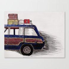 Wagoneer Canvas Print