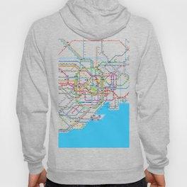 Tokyo Subway map Hoody