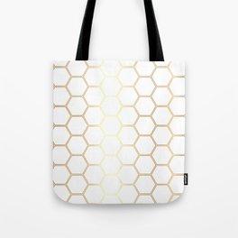 Honeycomb - Gold #170 Tote Bag