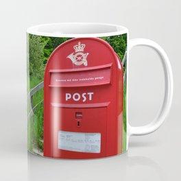 Post Box in Danish Countryside Coffee Mug