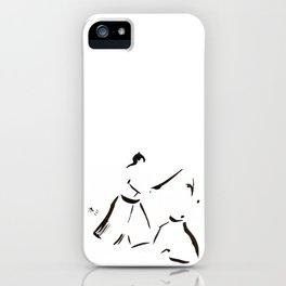 Aikido Series - 1 iPhone Case