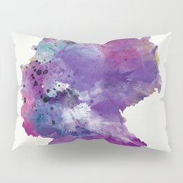 Germany Map Pillow Sham