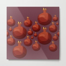 Pomegranate - Pallete I Metal Print