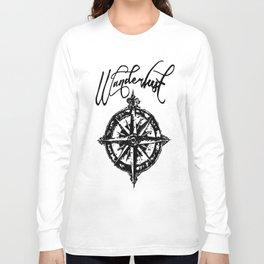 Wanderlust  Long Sleeve T-shirt
