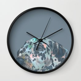 Dalmation-spotty Wall Clock