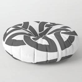 Celtic Shamrock Tribal Knot Floor Pillow
