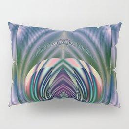Fractal Teardrop Pillow Sham