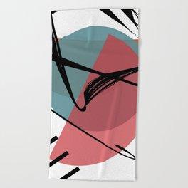 Torn Shackles Beach Towel