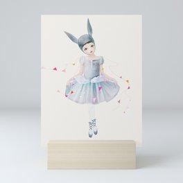 bunting Mini Art Print