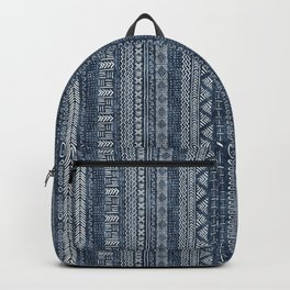 Mud Cloth Stripe Backpack