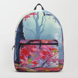 TARDIS CLOUD art painting Backpack