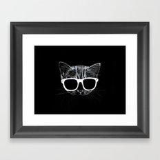 nightcat Framed Art Print