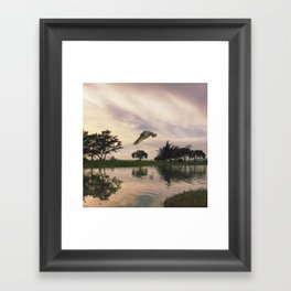 Allow Life to Move You Framed Art Print