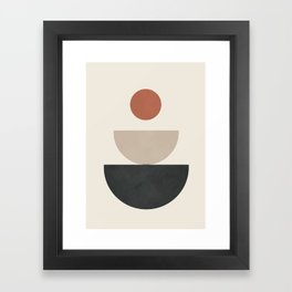 Geometric Modern Art 30 Framed Art Print