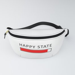 Happiness Concept Illustration Fanny Pack