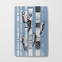Woodpeckers Metal Print