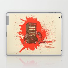 Hurry up, someone is coming! Laptop & iPad Skin