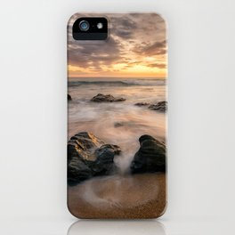 Kinnagoe Bay   Ireland  (RR80) iPhone Case