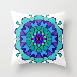 very detailed and easily editable Throw Pillow