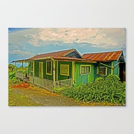1920 Home--closed up now Canvas Print