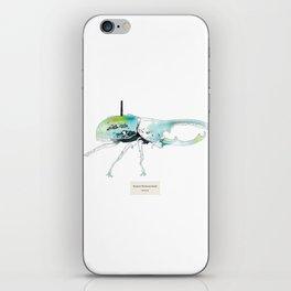 Dynastes Wirelessus Beetle iPhone Skin