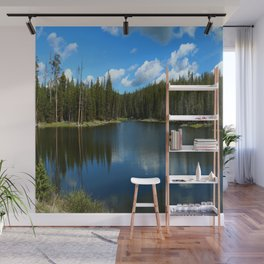 Tranquil Morning At Gull Point Drive Wall Mural