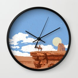 OUT WEST Wall Clock