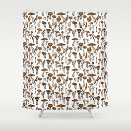 Mushroom Addiction Shower Curtain
