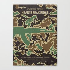 No747 My Heartbreak Ridge minimal movie poster Canvas Print