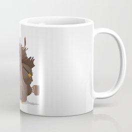 Grumpy coffee owl Coffee Mug