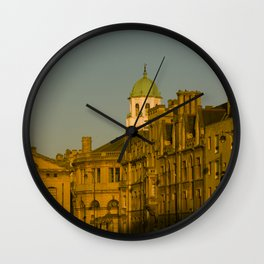 Oxford Evening Golden Hour Oxford University England Wall Clock