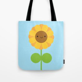 Kawaii Sunflower Tote Bag