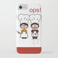 the fault iPhone & iPod Cases featuring It wasn't my fault by Golosinavisual