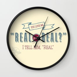 Real or Not Real? Wall Clock