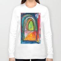 door Long Sleeve T-shirts featuring Door by Beth Ann Short