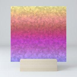 Vibrant Ombre Mini Art Print