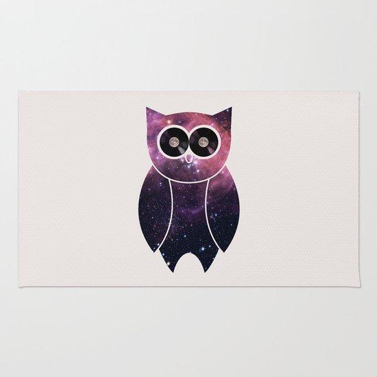 Owl Night Long Rug