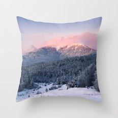 Mountain II Throw Pillow